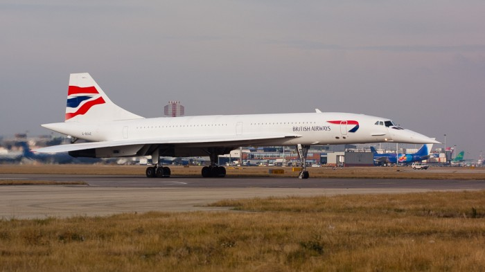 Concorde på Heathrow