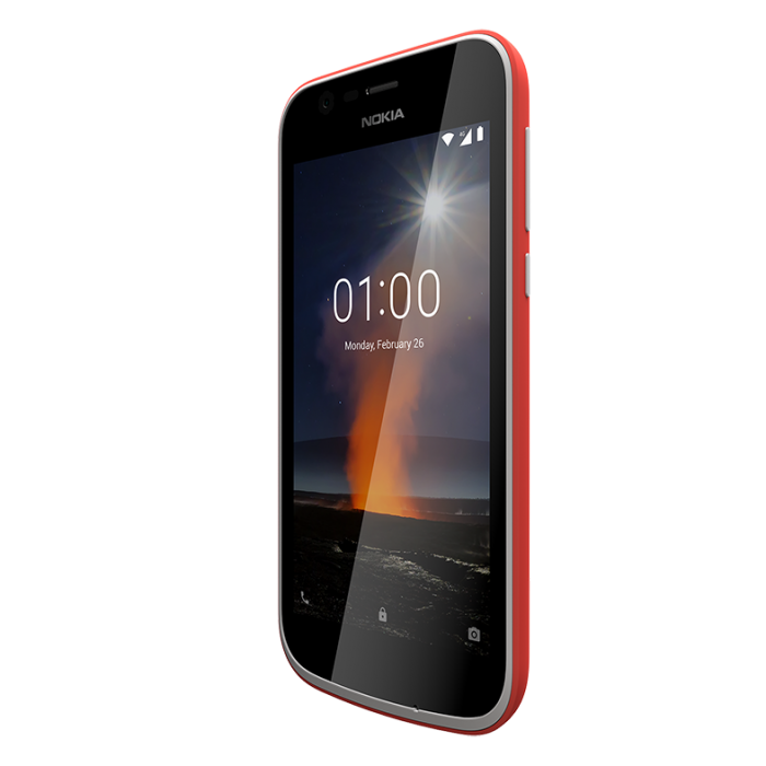 Nokia 1 Warm Red