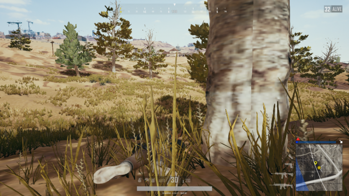 Skärmdump från PlayerUnknowns Battleground