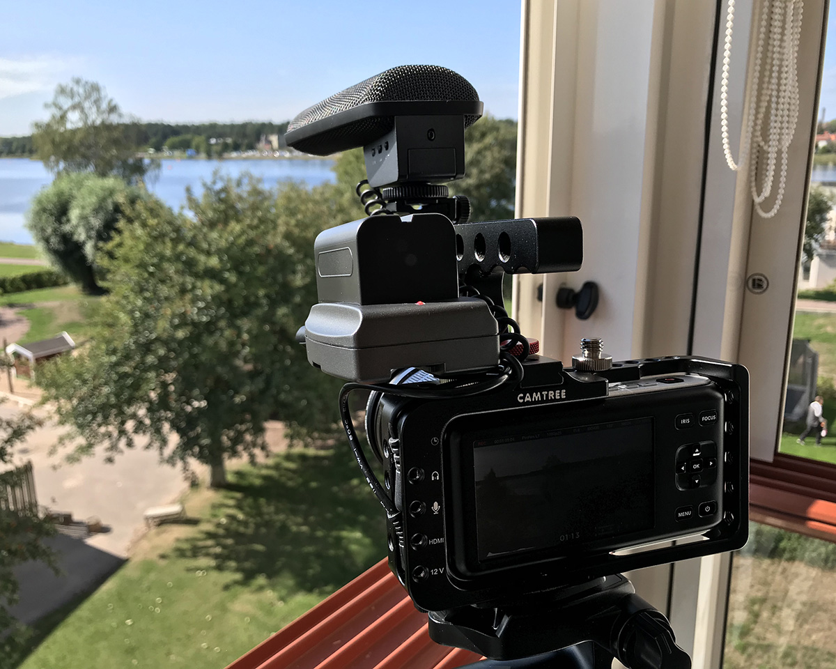 Blackmagic Pocket Cinema Camera med tillbehör
